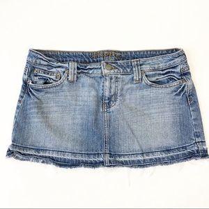 ☀️ Hippie Jean Mini Skirt